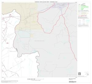 Primary view of object titled '2000 Census County Subdivison Block Map: Kerens CCD, Texas, Block 5'.