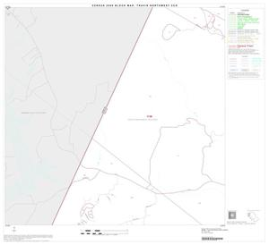 Primary view of object titled '2000 Census County Subdivison Block Map: Travis Northwest CCD, Texas, Block 4'.