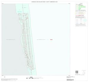 Primary view of object titled '2000 Census County Subdivison Block Map: East Cameron CCD, Texas, Inset A02'.