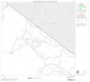 Primary view of object titled '2000 Census County Subdivison Block Map: Fort Davis CCD, Texas, Block 6'.