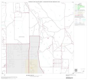 Primary view of object titled '2000 Census County Subdivison Block Map: Canadian River Breaks CCD, Texas, Block 11'.