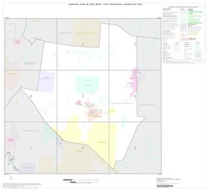 Primary view of object titled '2000 Census County Subdivison Block Map: Los Fresnos-Laureles CCD, Texas, Index'.