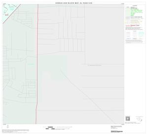 Primary view of object titled '2000 Census County Subdivison Block Map: El Paso CCD, Texas, Block 37'.