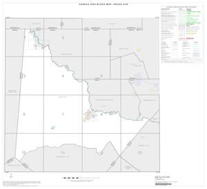 Primary view of object titled '2000 Census County Subdivison Block Map: Pecos CCD, Texas, Index'.