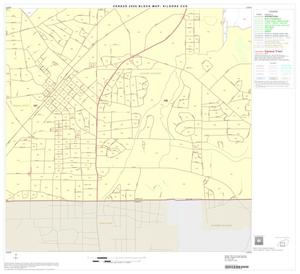 Primary view of object titled '2000 Census County Subdivison Block Map: Kilgore CCD, Texas, Block 5'.