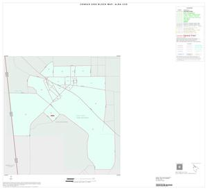 Primary view of object titled '2000 Census County Subdivison Block Map: Alba CCD, Texas, Inset A01'.