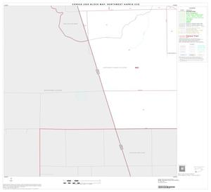 Primary view of object titled '2000 Census County Subdivison Block Map: Northwest Harris CCD, Texas, Block 31'.