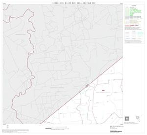 Primary view of object titled '2000 Census County Subdivison Block Map: Edna-Cordele CCD, Texas, Block 1'.