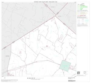 Primary view of object titled '2000 Census County Subdivison Block Map: Waelder CCD, Texas, Block 1'.