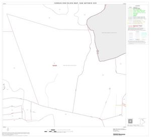 Primary view of object titled '2000 Census County Subdivison Block Map: San Antonio CCD, Texas, Block 18'.