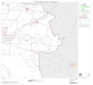 Primary view of object titled '2000 Census County Subdivison Block Map: Comanche CCD, Texas, Block 6'.