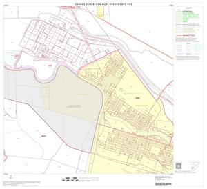 Primary view of object titled '2000 Census County Subdivison Block Map: Brazosport CCD, Texas, Block 17'.