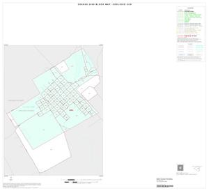 Primary view of object titled '2000 Census County Subdivison Block Map: Coolidge CCD, Texas, Inset A01'.