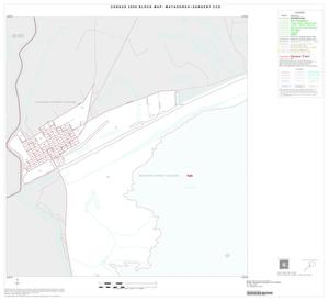 Primary view of object titled '2000 Census County Subdivison Block Map: Matagorda-Sargent CCD, Texas, Inset B01'.