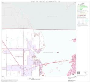 Primary view of object titled '2000 Census County Subdivison Block Map: Cedar Creek Lake CCD, Texas, Block 4'.