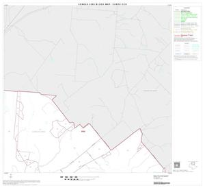 Primary view of object titled '2000 Census County Subdivison Block Map: Cuero CCD, Texas, Block 2'.