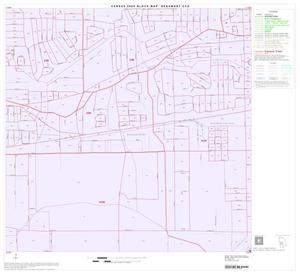 Primary view of object titled '2000 Census County Subdivison Block Map: Beaumont CCD, Texas, Block 13'.