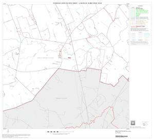 Primary view of object titled '2000 Census County Subdivison Block Map: Lincoln-Dime Box CCD, Texas, Block 5'.