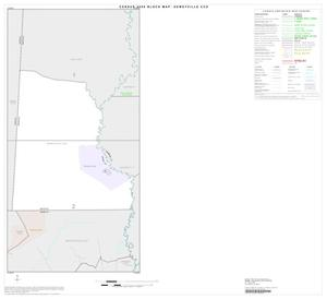 Primary view of object titled '2000 Census County Subdivison Block Map: Deweyville CCD, Texas, Index'.