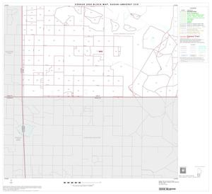 Primary view of object titled '2000 Census County Subdivison Block Map: Sudan-Amherst CCD, Texas, Block 7'.