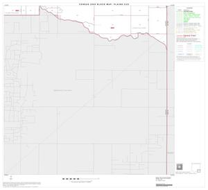 Primary view of object titled '2000 Census County Subdivison Block Map: Plains CCD, Texas, Block 9'.