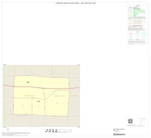 Primary view of object titled '2000 Census County Subdivison Block Map: Arlington CCD, Texas, Inset A01'.