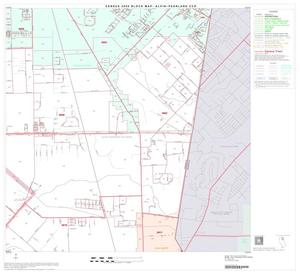 Primary view of object titled '2000 Census County Subdivison Block Map: Alvin-Pearland CCD, Texas, Block 6'.