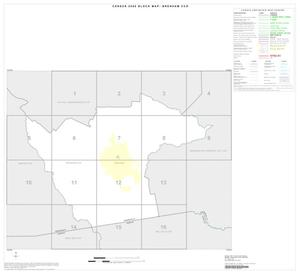 Primary view of object titled '2000 Census County Subdivison Block Map: Brenham CCD, Texas, Index'.