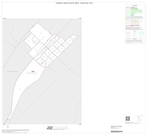 Primary view of object titled '2000 Census County Subdivison Block Map: Gustine CCD, Texas, Inset A01'.