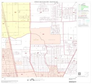 Primary view of object titled '2000 Census County Subdivison Block Map: Houston CCD, Texas, Block 37'.