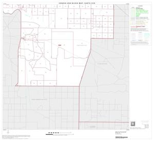 Primary view of object titled '2000 Census County Subdivison Block Map: Earth CCD, Texas, Block 4'.