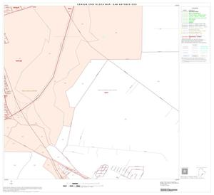 Primary view of object titled '2000 Census County Subdivison Block Map: San Antonio CCD, Texas, Block 90'.