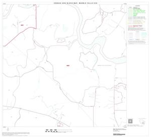 Primary view of object titled '2000 Census County Subdivison Block Map: Marble Falls CCD, Texas, Block 10'.