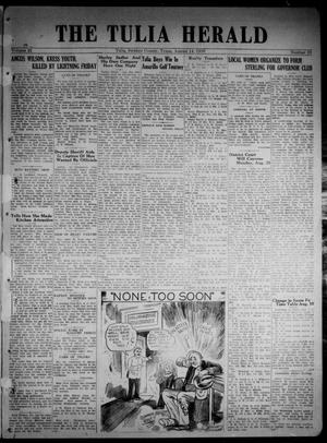 The Tulia Herald (Tulia, Tex), Vol. 21, No. 33, Ed. 1, Thursday, August 14, 1930