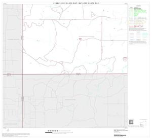 Primary view of object titled '2000 Census County Subdivison Block Map: Matador South CCD, Texas, Block 6'.