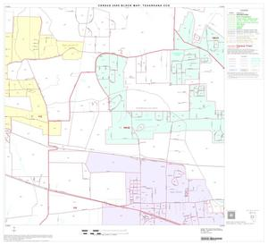 Primary view of object titled '2000 Census County Subdivison Block Map: Texarkana CCD, Texas, Block 8'.