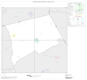 Primary view of object titled '2000 Census County Subdivison Block Map: Itasca CCD, Texas, Index'.