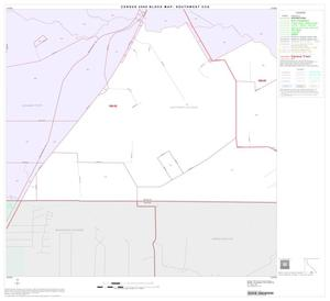 Primary view of object titled '2000 Census County Subdivison Block Map: Southwest CCD, Texas, Block 54'.
