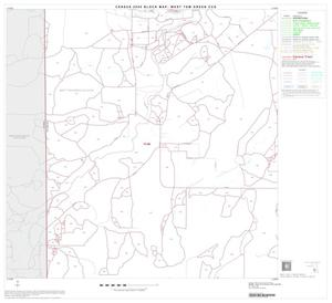 Primary view of object titled '2000 Census County Subdivison Block Map: West Tom Green CCD, Texas, Block 12'.