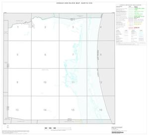 Primary view of object titled '2000 Census County Subdivison Block Map: Sarita CCD, Texas, Index'.
