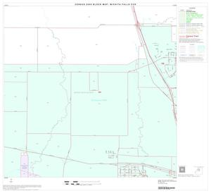 Primary view of object titled '2000 Census County Subdivison Block Map: Wichita Falls CCD, Texas, Block 6'.