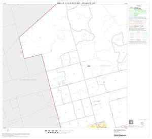 Primary view of object titled '2000 Census County Subdivison Block Map: Coahoma CCD, Texas, Block 3'.