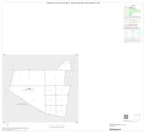 Primary view of object titled '2000 Census County Subdivison Block Map: Weatherford Northwest CCD, Texas, Inset A01'.