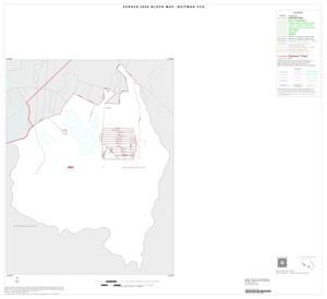 Primary view of object titled '2000 Census County Subdivison Block Map: Quitman CCD, Texas, Inset B01'.