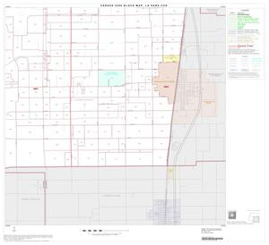 Primary view of object titled '2000 Census County Subdivison Block Map: La Sara CCD, Texas, Block 4'.