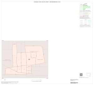 Primary view of object titled '2000 Census County Subdivison Block Map: Brownsboro CCD, Texas, Inset A01'.