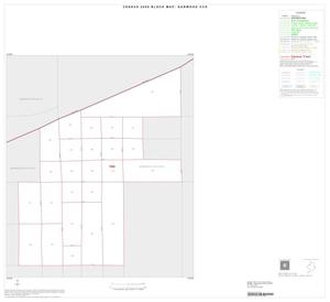 Primary view of object titled '2000 Census County Subdivison Block Map: Garwood CCD, Texas, Inset A01'.