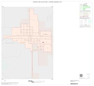 Primary view of object titled '2000 Census County Subdivison Block Map: Strawn-Gordon CCD, Texas, Inset C01'.