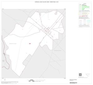 Primary view of object titled '2000 Census County Subdivison Block Map: Mentone CCD, Texas, Inset A01'.