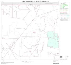 Primary view of object titled '2000 Census County Subdivison Block Map: Rio Grande City-San Isidro CCD, Texas, Block 4'.